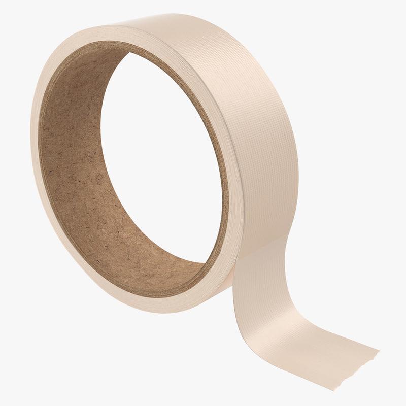 3d model of Masking Tape 00.jpg