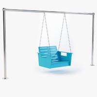 3d porch swing model