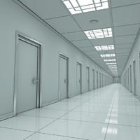 modern hallway lwo