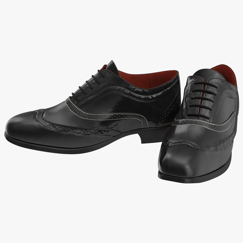 Wingtip Shoes 3d model 00.jpg