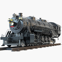 4 8 2 Frisco Steam locomotive