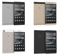 huawei p8 colors 3d model