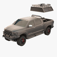 toyota tundra devolro 3d model