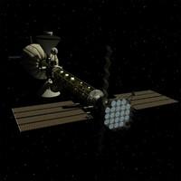 maya manned mars ion drive