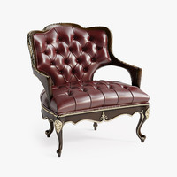 3d model century briarcliff chair