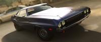 3ds max car 1970