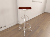 industrial console chair 3ds