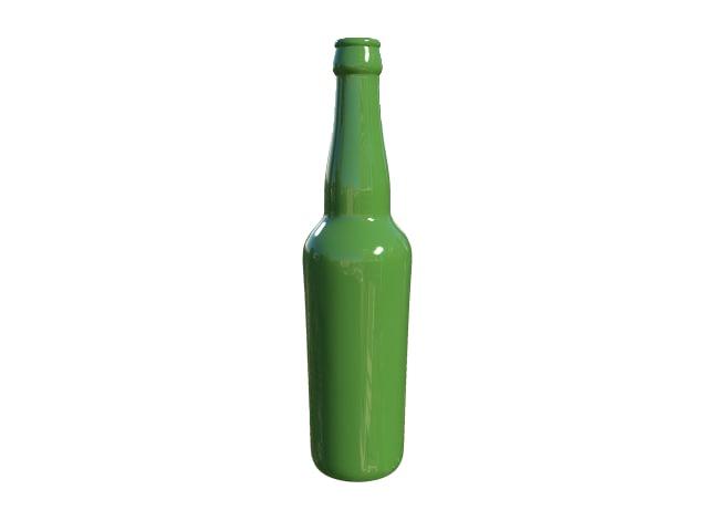 bottle beer obj free. Black Bedroom Furniture Sets. Home Design Ideas