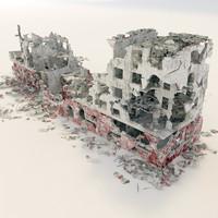 ruins 3d max