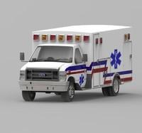 3ds max ambulance car