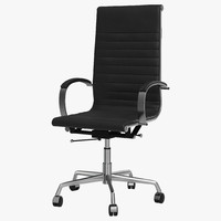 office chair 4 3d model