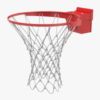 basketball rim spalding 3d 3ds