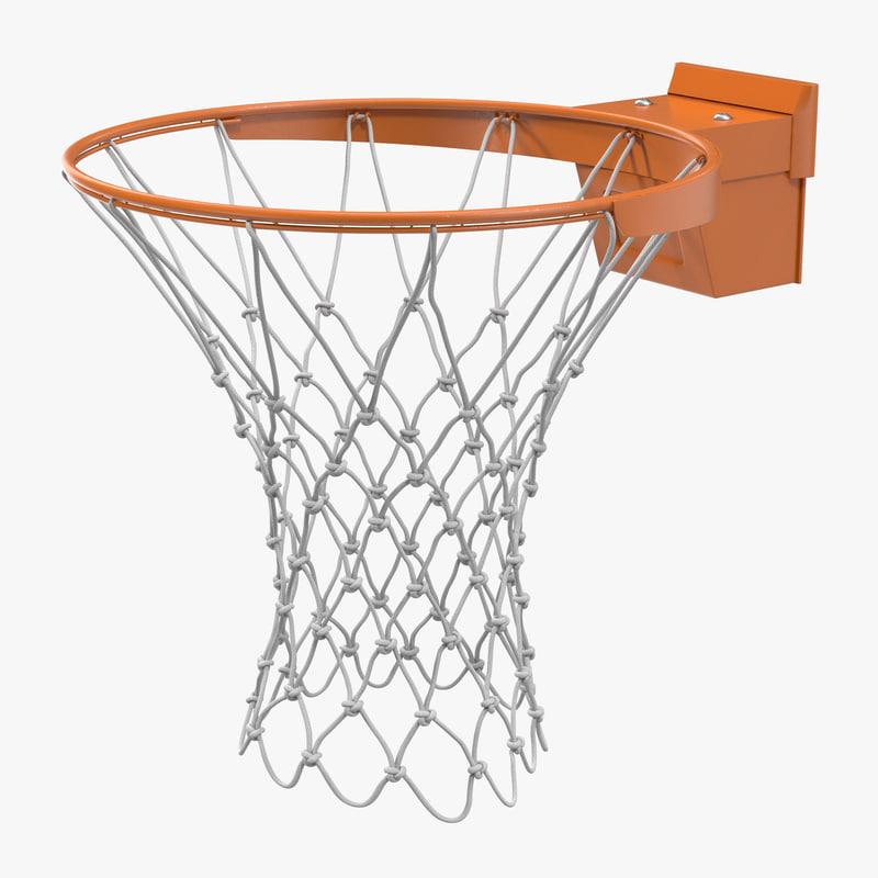 Basketball Rim Generic 3d model 00.jpg