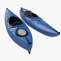 kayak generic 3d 3ds