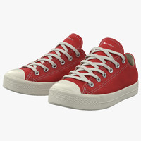 3d sneakers 2 red