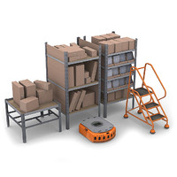 maya commercial warehouse pack