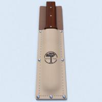 beige knifecase 3d obj