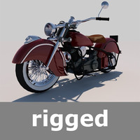 rigged indian chief 1948 3ds