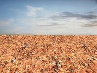 Sand with stones 46