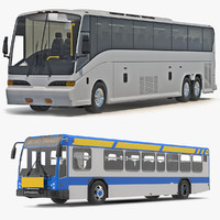 3d buses bus