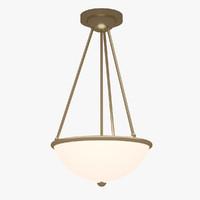 3d lamp interior model