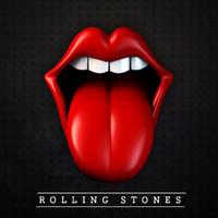 tongue rolling stones 3d c4d
