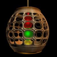 3ds max chinese lantern