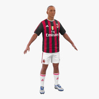 soccer player milan c4d