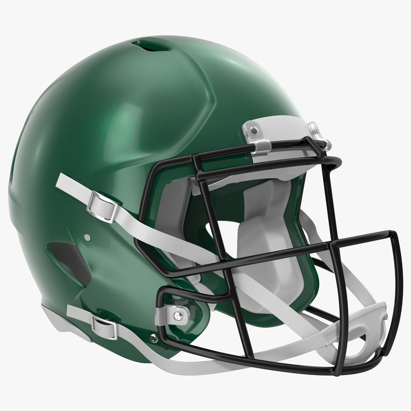 Football Helmet Generic 3d model 00.jpg