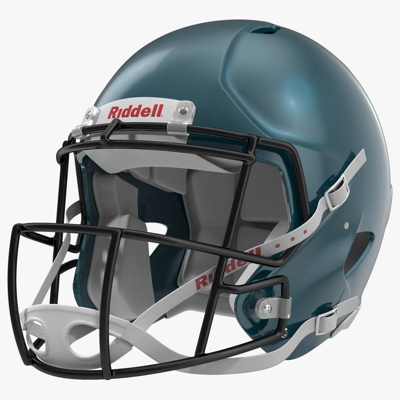 Football Helmet Riddell 3d model 00.jpg
