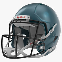 Football Helmet 3 Riddell