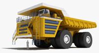 belaz 75710 mining truck 3d 3ds