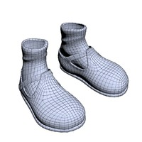 3ds max girl shoe