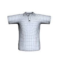 shirt tshirt 3d model