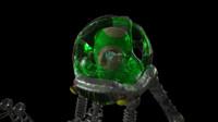transhuman 3d model