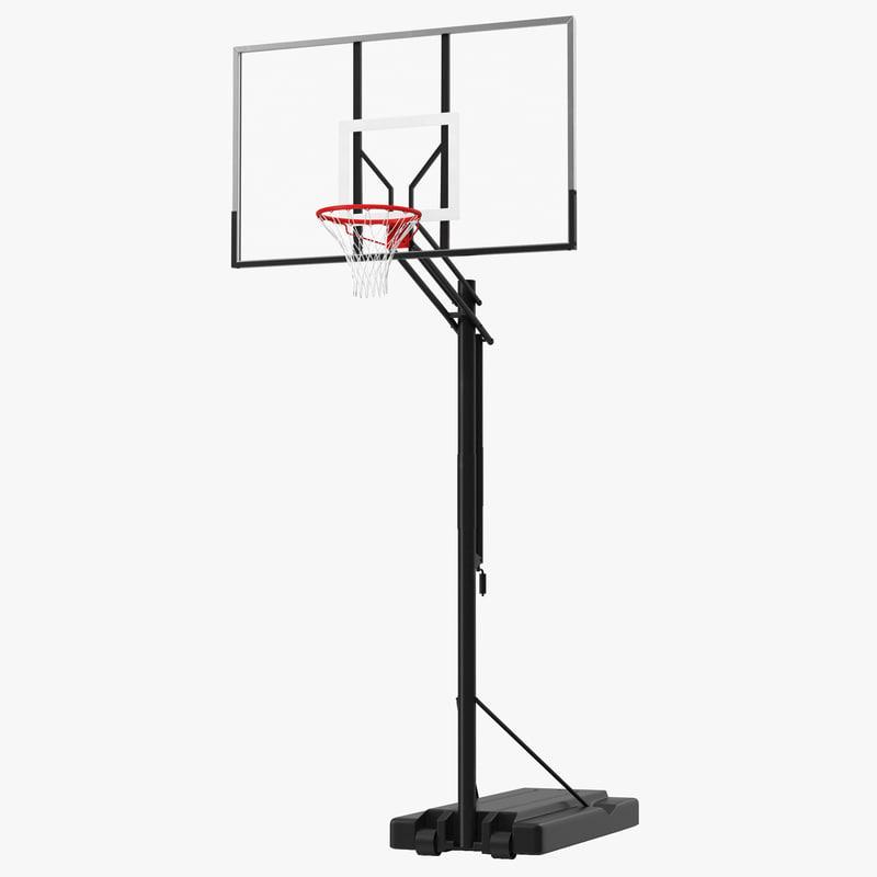 3d model of Basketball Hoop 00.jpg