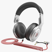 3d model of headphones monster beats pro