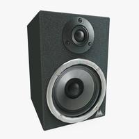 3d model studiophile speaker