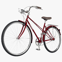 bicycle linus mixte 3d max