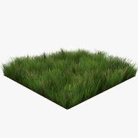 Grass Lowpoly Game Ready