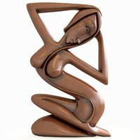 indonesian sculpture 3d model