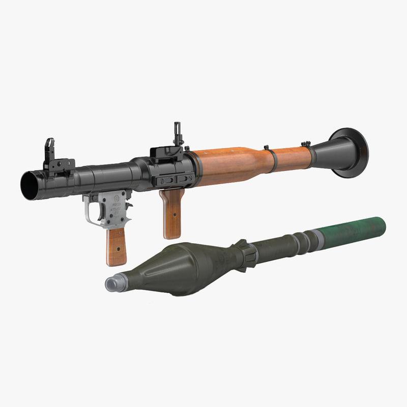 RPG-7 Collection 3d models 00.jpg