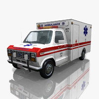 Ford Econoline 150 Van Ambulance
