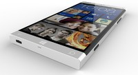 3d nokia concept phone model