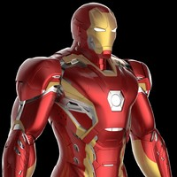 Mark 45 Iron Man Armor/Suit - Avengers Age of Ultron