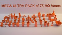 3d mega ultra pack 75 model