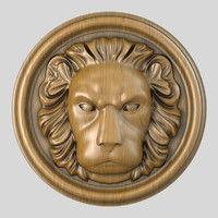 3ds max lion head