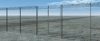 free fence 3d model
