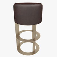 barstool stool 3d model