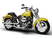 Harley-Davidson FLSTF Softail Fat Boy 2012